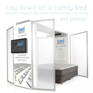 Bedmatch Mattress Test at Bob Mills Sleep Spa