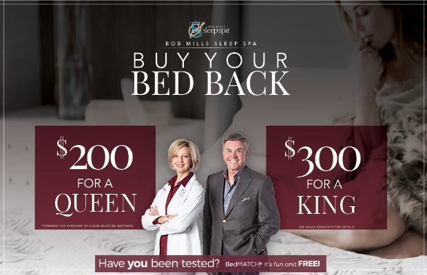 Buy Your Bed Back Mattress Promotion