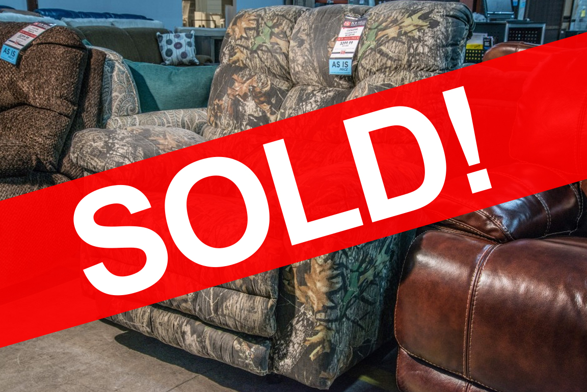 Catnapper Camo Recliner SOLD
