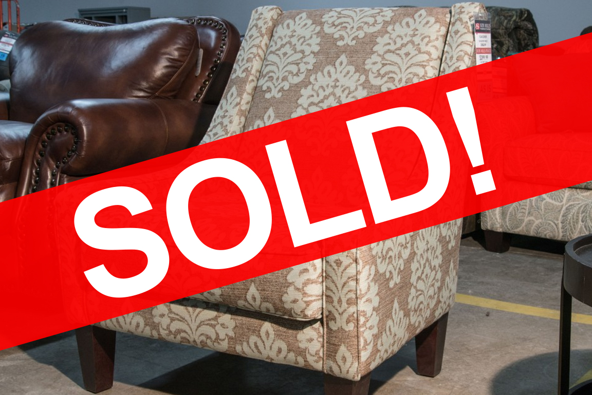KLAUSSNER MATRIX ACCENT CHAIR SOLD