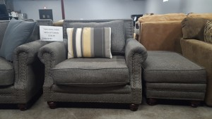 Sofa Master Occasional Chair & Ottoman