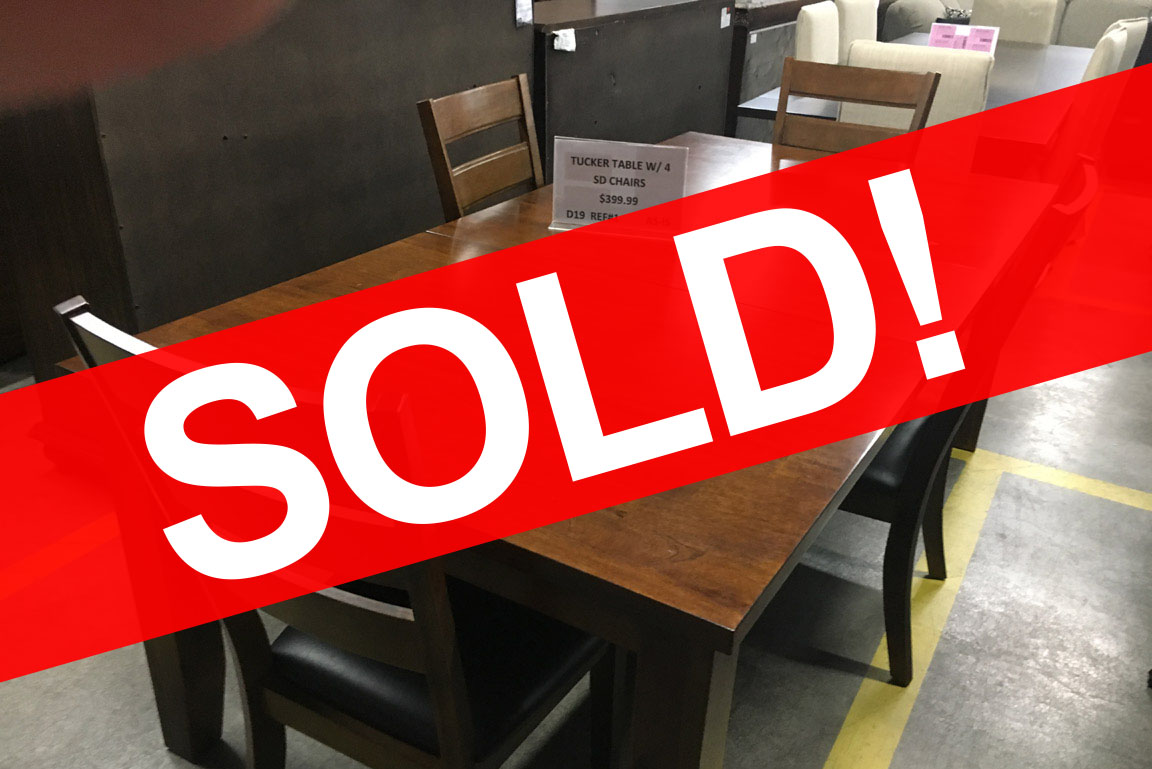 Tucker Dining Table And Four Chairs Regular Price 795 Reduced To 3994 DAY