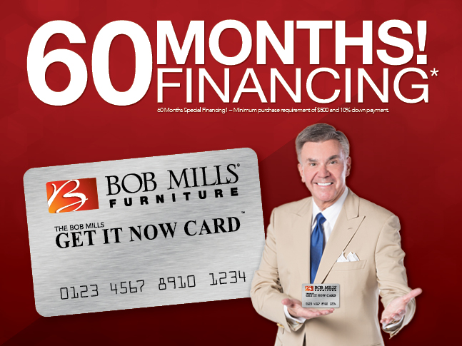 Ask About 60 Months Financing On Purchases Over 500 Bob Mills Furniture Okc