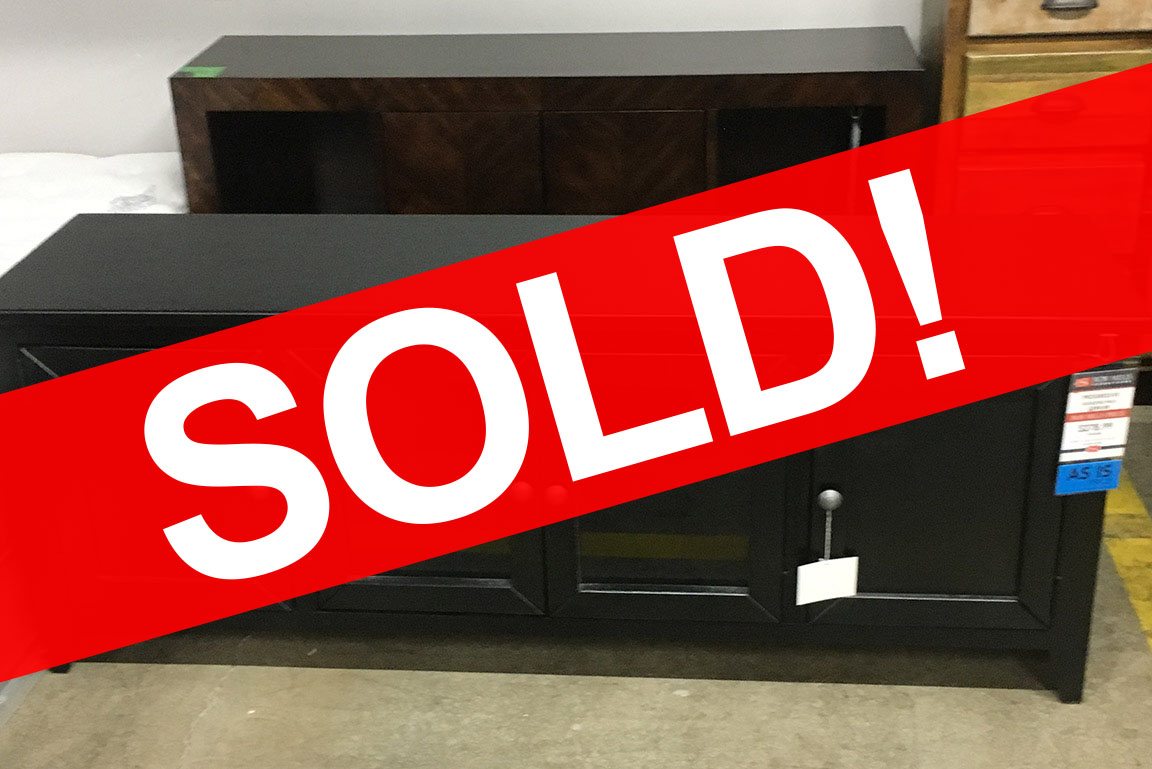 METRO ENTERTAINMENT CONSOLE SOLD