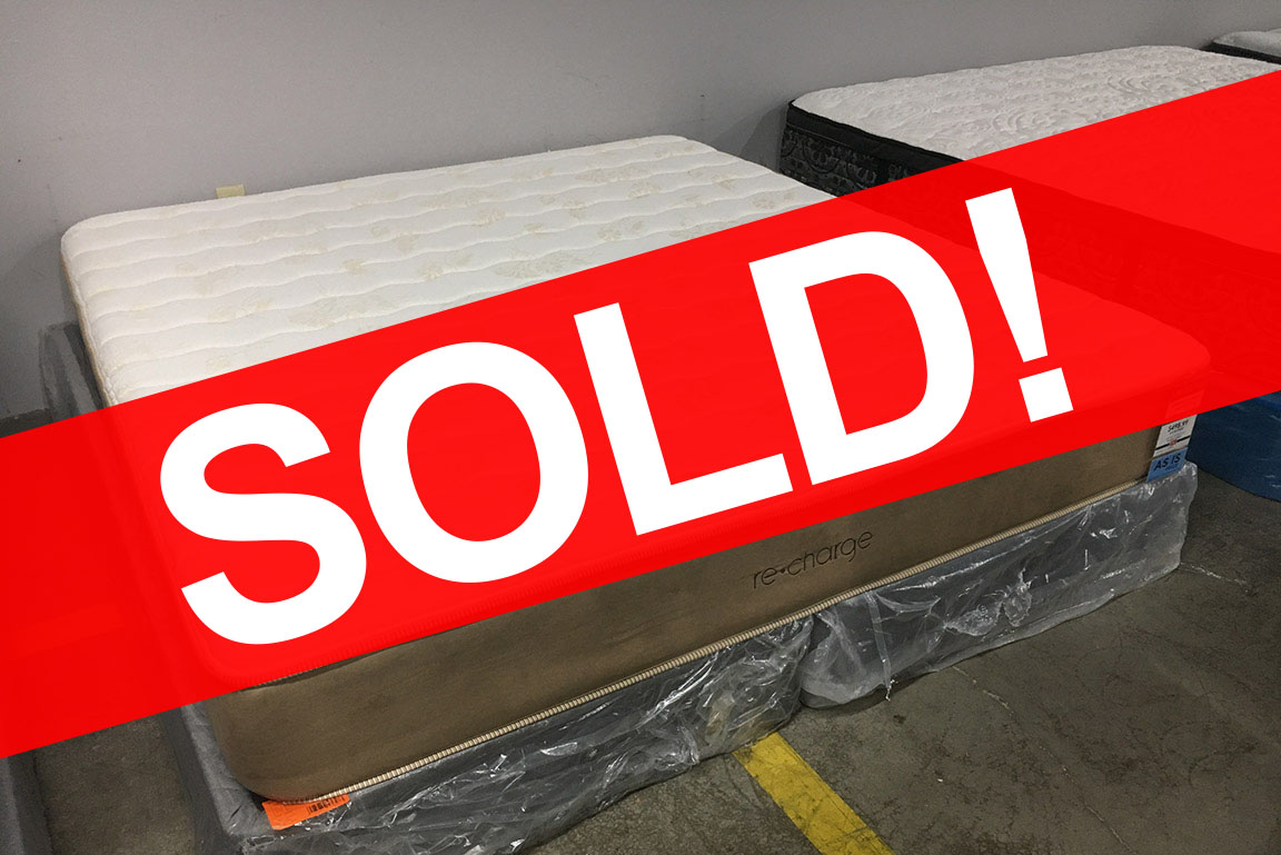 SIMMONS RECHARGE KING MATTRESS SOLD